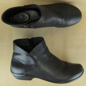 DANSKO US 9.5 10 EU 40 Women Ankle Boots Zip